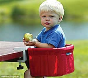 government issues warning unsafe feeding chairs
