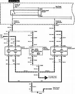 Need High Beam  Low Beam Wiring Diagram For 1992 Honda