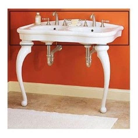 pedestal double sink console parisian pedestal double sink console upstairs bathroom