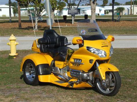 Honda Goldwing Trike Sunshine Yellow Motorcycle For Sale
