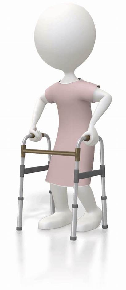 Patient Falls Care Walker Standard Common Patients