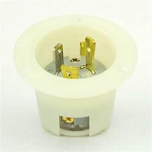 Superior Electric Ygf168 Twist Lock Flanged Inlet 3 Wire