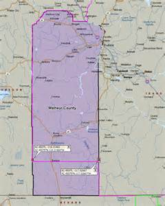 Time Zone Map Malheur County Oregon