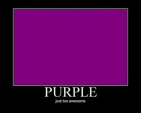 The Color Purple Meme - purple just too awesome internet memes juxtapost