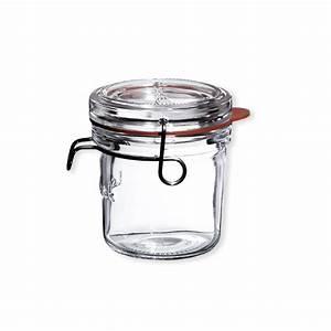 Bocaux En Verre Pour Conserves : bo te de 6 bocaux en verre id al pour les conserves ~ Nature-et-papiers.com Idées de Décoration