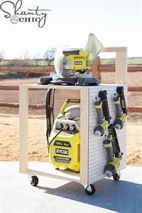 DIY Air Compressor Cart Air compressor, Wood projects