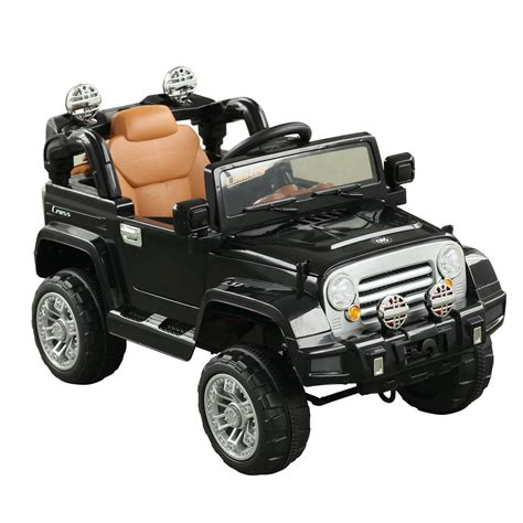 Aosom 12V Kids Jeep Style Electric Battery Powered Ride On ...