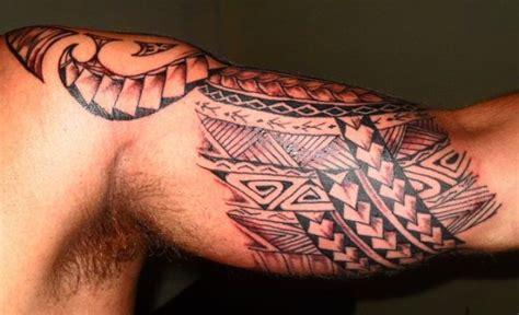 tatouage int 233 rieur biceps samoa