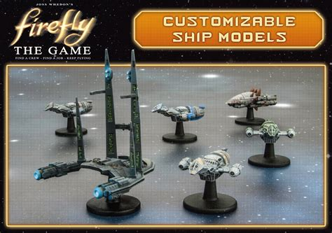 Schip Expansion by Firefly The Board Game Resin Ships Dice Tower News