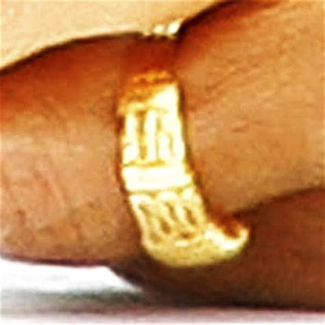 bombshell obama s wedding ring says there is no god but allah now the end begins