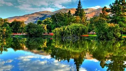 Scenic Nature Lake Reflection Backgrounds Awesome Wallpapers
