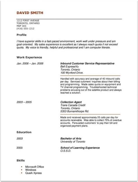No Experience Resume Template by Cna Resume Sle With No Experience Resume Resume