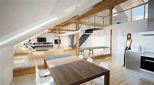 Alle Sitzmöbel In Einem Raum : 1001 ideen f r die moderne dachgeschosswohnung ~ Bigdaddyawards.com Haus und Dekorationen