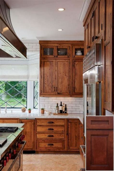 importance  oak cabinets  black stainless