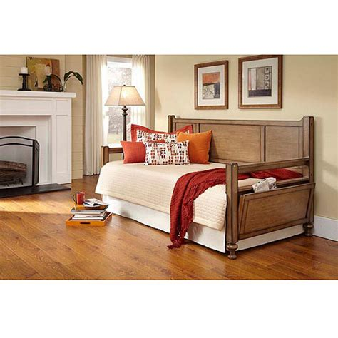 Day Beds Walmart by Newcastle Wood Daybed Acorn Walmart