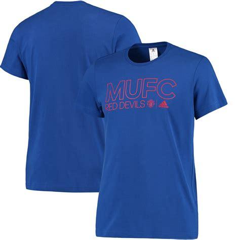 Men's adidas Royal Manchester United Core T-Shirt