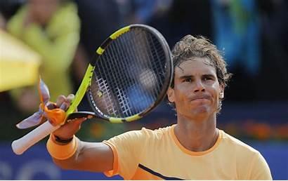 Tennis Nadal Match Exhibition Rusty Gasquet Player