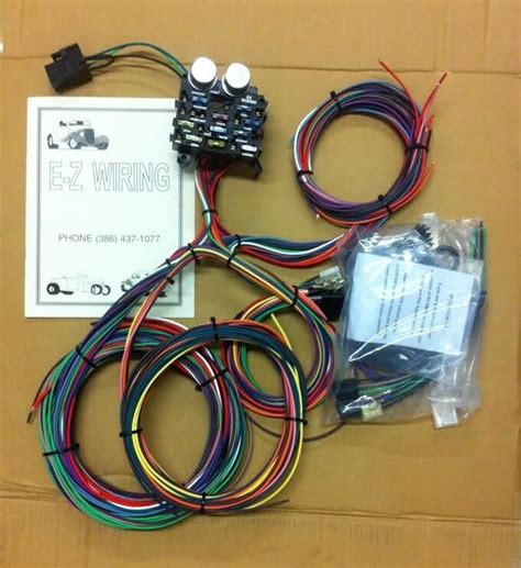 Ez Rod Wiring Harnes Kit ez wiring 12 circuit rod wiring harness ebay