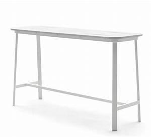 Table Haute 4 Personnes : bar de jardin 4 personnes aluminium table haute h102cm ~ Melissatoandfro.com Idées de Décoration