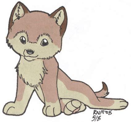wolf pup cartoon