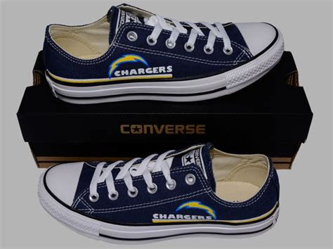 Hand Painted Converse Lo Sneakers. San By