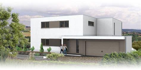 Moderne Haus Planung by Flachdach Architektenhaus Ansicht 2 Architektur Design
