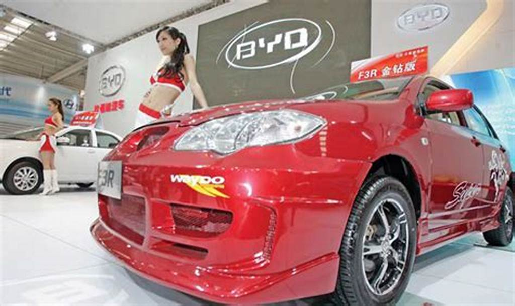 #Byd #Cars #On #Display #At #An #Auto #Show #In #Taiyuan #Capital #Of
