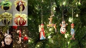 Weihnachtsschmuck Selber Machen : christbaumschmuck basteln weihnachtsschmuck selber machen kreative ideen zum nachmache youtube ~ Frokenaadalensverden.com Haus und Dekorationen