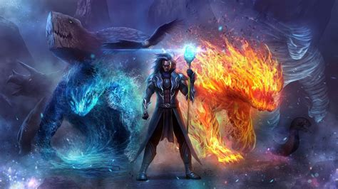 hd wizard in ice and fire wallpaper download free 149843