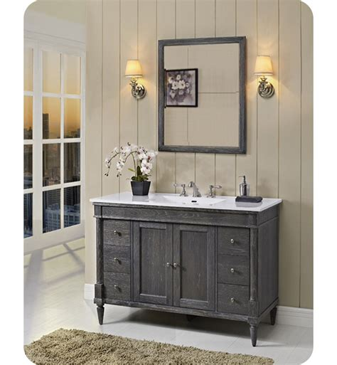 Fairmont Designs Rustic Chic Vanity by Fairmont Designs 143 V48 Rustic Chic 48 Inch Vanity In