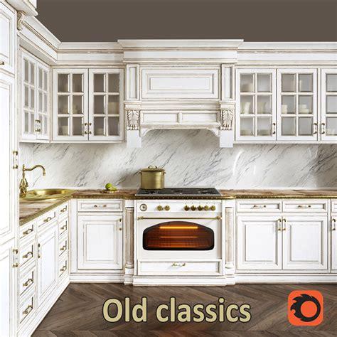 kitchen classics  model cgtrader