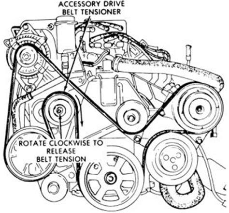 1994 Ford Aerostar Engine Diagram 1994 ford aerostar belt diagram i just need a diagram for