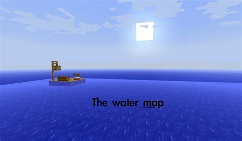 water map minecraft map