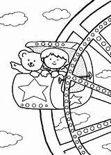 Ferris Coloring Wheel Carnival Activity Familycorner Okul Circus Riding Friends öncesi Corner Theme Fair Activities Printable Carnivals Pano Seç Boyama sketch template