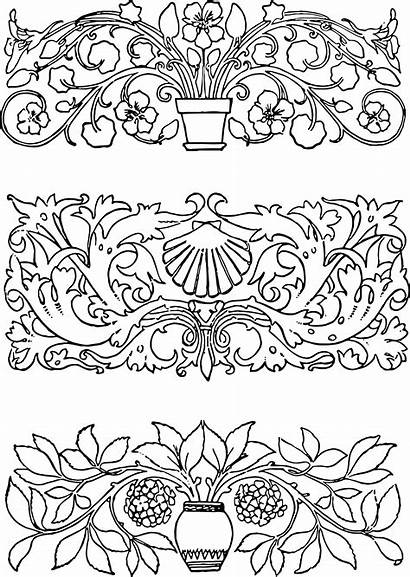 Vector Ornaments Decorative Ornament Floral Transparent Clipart