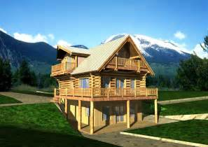 Mountain Log Home Plans