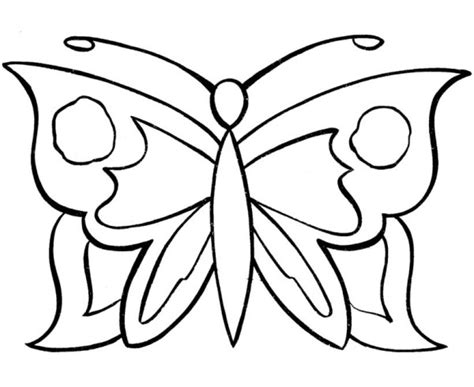 Simple-pattern-butterfly-coloring-pages
