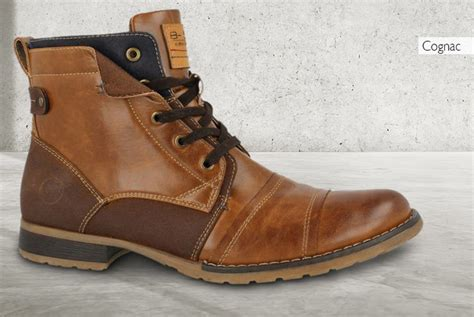 Men's Faux Leather Timber Bullboxer Boots