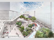 Draft concept design for Parramatta Square public domain