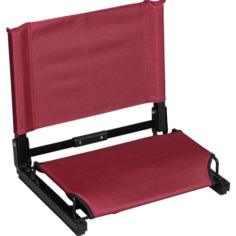 bahama deluxe folding stadium chair patented stadium chair bleacher seat ebay