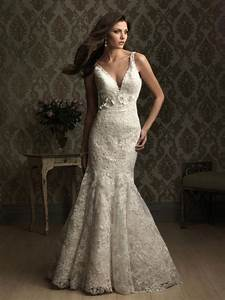 lace fitted mermaid trumpet wedding dresses prlog With fitted lace wedding dress
