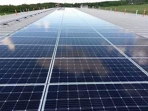 First Solar Module : horse lake first nation installing solar panels on arena roof my grande prairie now ~ Frokenaadalensverden.com Haus und Dekorationen