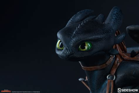 Sideshow Toothless Dragon Statue