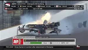 Accident Bourdais Indianapolis : sebastien bourdais huge crash 2017 indy500 qualifying youtube ~ Maxctalentgroup.com Avis de Voitures