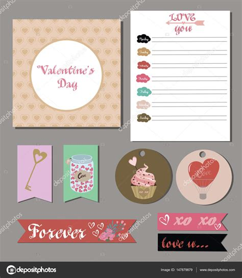 So many things to make for friends, family and that special someone! Valentines day cards, gift tags, planner, stickers and ...