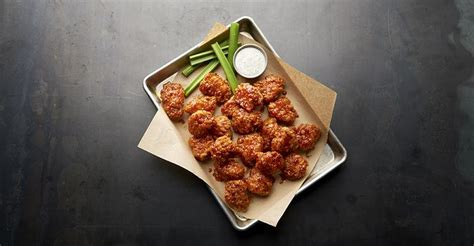 buffalo wild wings continues  elevate  bar food game