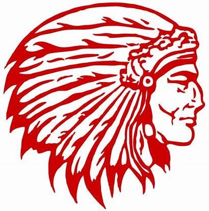 Indian Head Adair County Clipart Schools Football
