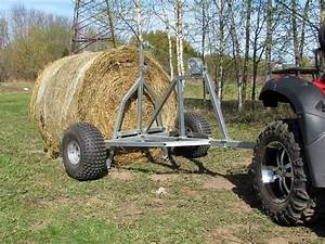 13 Best Atv Bale Trailer  Single Bale Trailer  Round Bale Trailer  Bale Trailer Images On