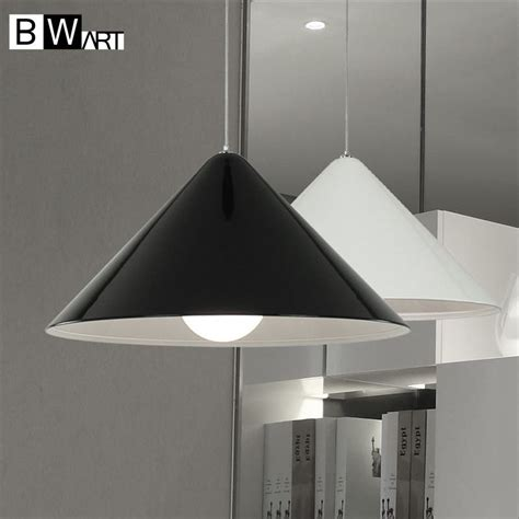 hanging lighting fixtures for kitchen bwart modern black lshade e27 industrial pendant 6994