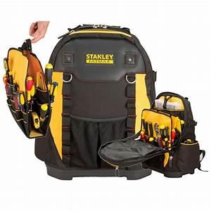 Stanley Fat Max : stanley stanley fatmax padded tool backpack box bag plumbers electricians rucksack 1 95 611 ~ Eleganceandgraceweddings.com Haus und Dekorationen